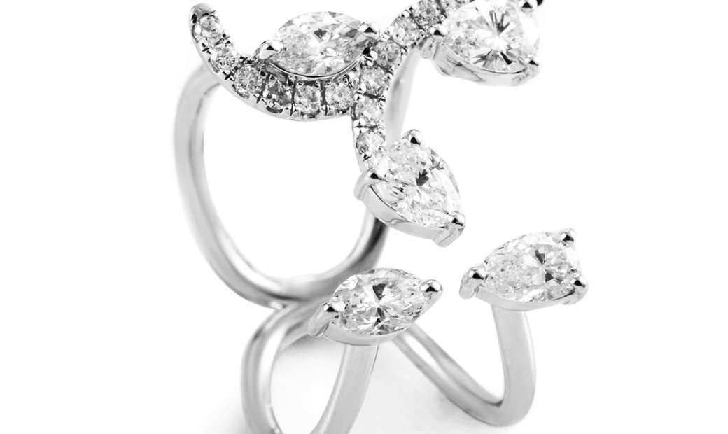 LB Exclusive LB Exclusive 18K White Gold 1.15 ct Diamond Ring