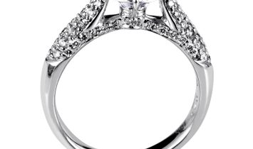 Simon G. Simon G. Women's 18K White Gold Diamond Engagement Ring SM8-051931
