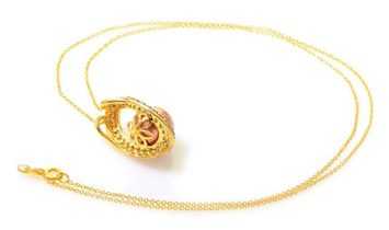 LeVian LeVian 14K Yellow Gold Brown Pearl and Diamond Pendant Necklace PD4-11820