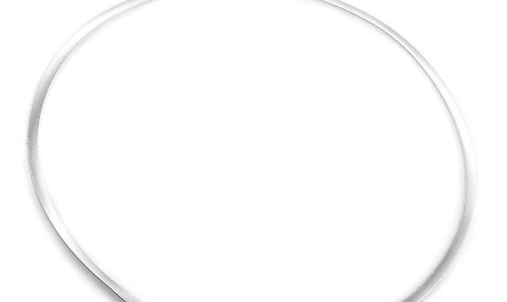 Marco Bicego Marco Bicego 18K White Gold Partial Diamond Pave Collar Necklace