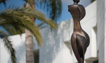 Contemporary Villa in Art Deco Style with open sea views in Marbella.