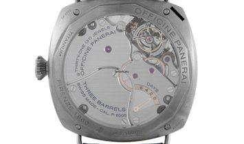 Panerai Officine Panerai Radiomir Tourbillon GMT Titanio Manually Wound Watch PAM 00315