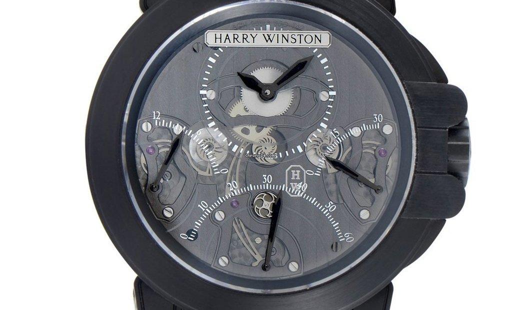 Harry Winston Ocean Triple Retrograde Chronograph 400/MCDA44ZK