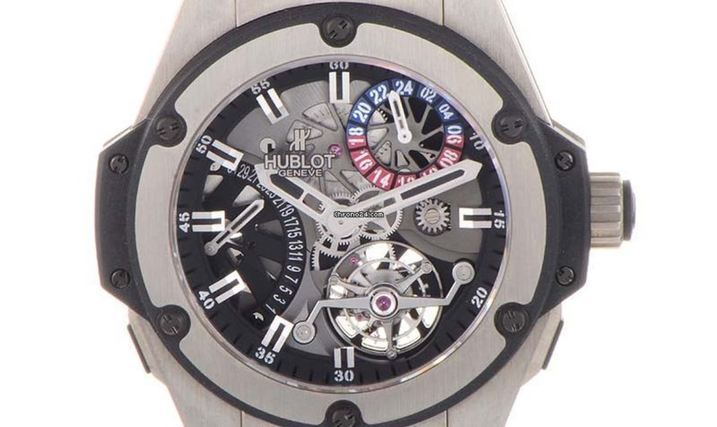 Hublot King Power Tourbillon GMT Zirconium 706.ZX.1170.RX