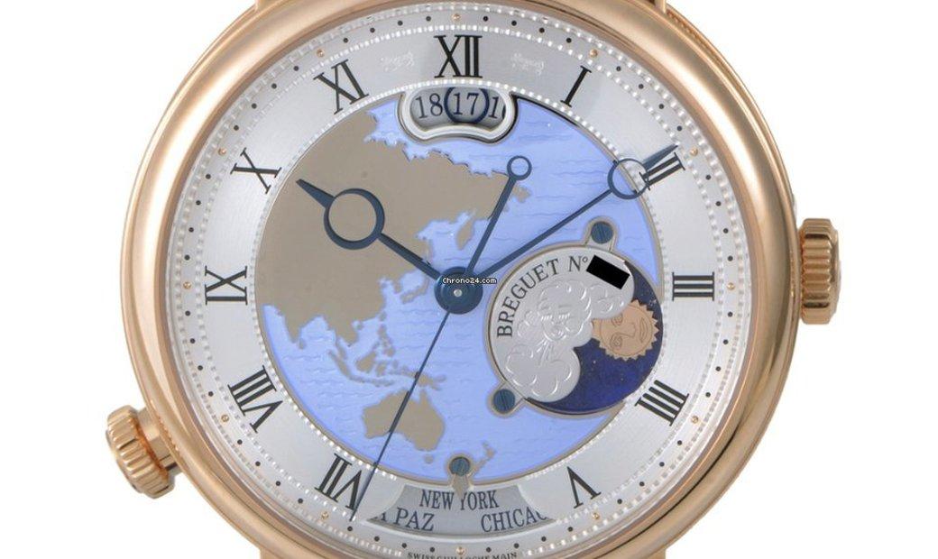 Breguet Classique Hora Mundi Asia and Oceania Watch 5717BR/AS/9ZU