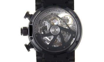 Graham Tourbillograph Trackmaster Black Watch 2TWTB.B03A.K47D