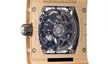Richard Mille RM 016 Rose Gold Ruby Set Watch