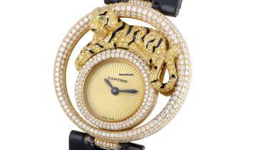 Cartier Le Cirque Animalier De Cartier Tigre Watch WS000250
