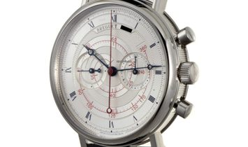 Breguet Classique Mens Manual Wind Chronograph Watch 5247BB/12/9V6
