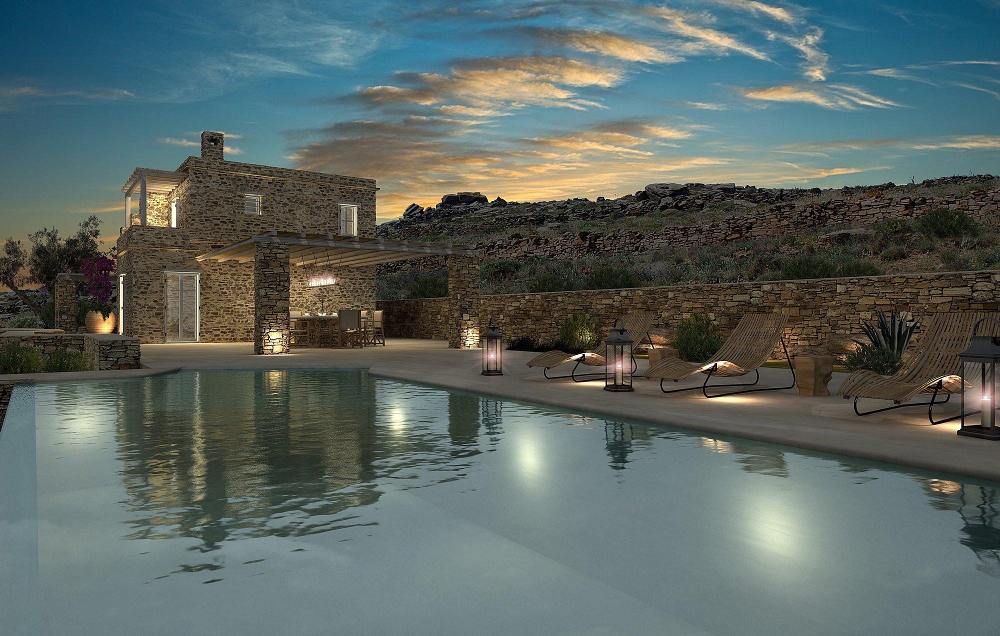 House in Kionia, Greece 1