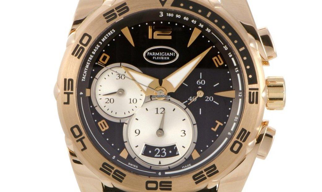 Parmigiani Fleurier Pershing 002 Chronograph 42mm Automatic Watch PFC528-1010300-HA1442