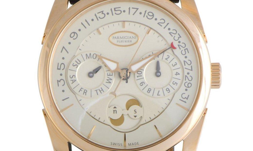Parmigiani Fleurier Tonda Quator Automatic Watch PFC272-1002400-HA1241