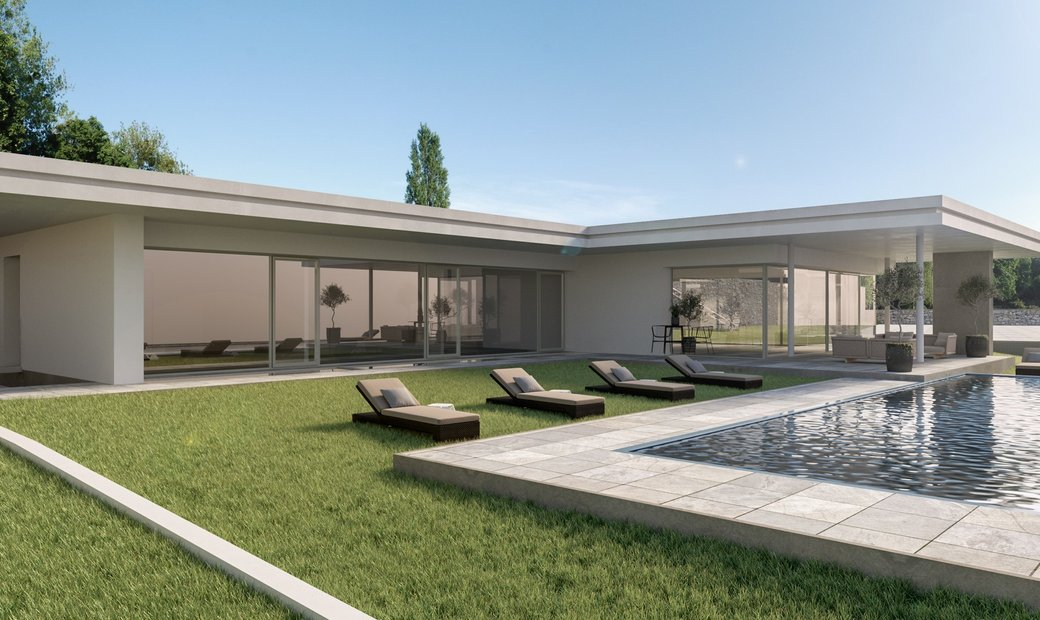 Stunning Villa With Infinity Pool And Total Lake View