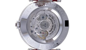 Franck Muller Double Mystery Quatre Saisons Watch DM 42 QTR SAI D 3R CD Rainbow Dial