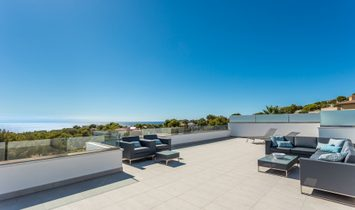 Newly Built Villa With Sea Views In Santa Ponsa