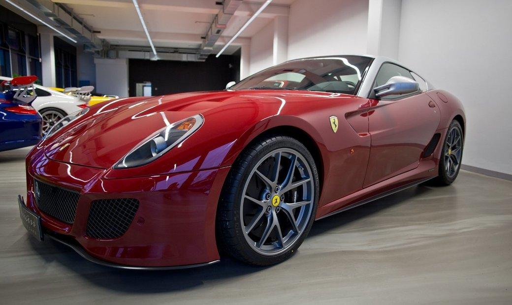 Ferrari 599 GTO * mugello rosso *