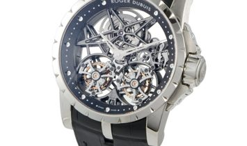 Roger Dubuis Excalibur Skeleton Double Flying Tourbillon RDDBEX0281