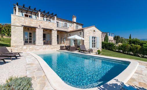 House in Motovun, Istria County, Croatia