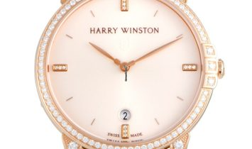 Harry Winston Midnight Automatic 39 mm MIDAHD39RR003