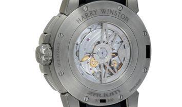 Harry Winston Project Z8 Dual Time  OCEATZ44ZZ009