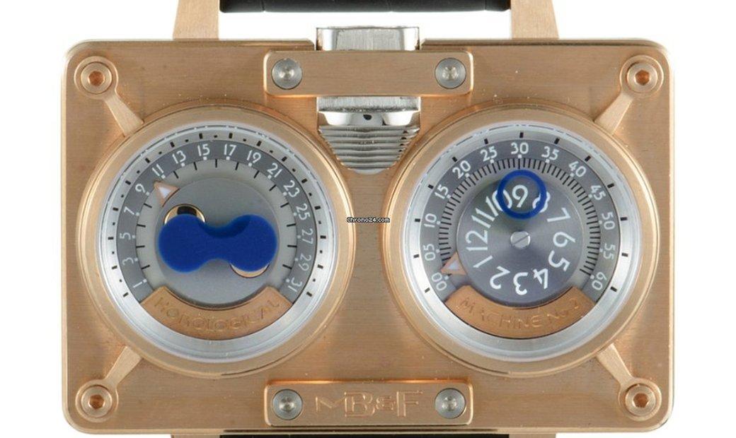 Mb&f MB & F Horological Machine No.2 LE (HM2 Red Gold & Titanium) 20.DRRTL.R