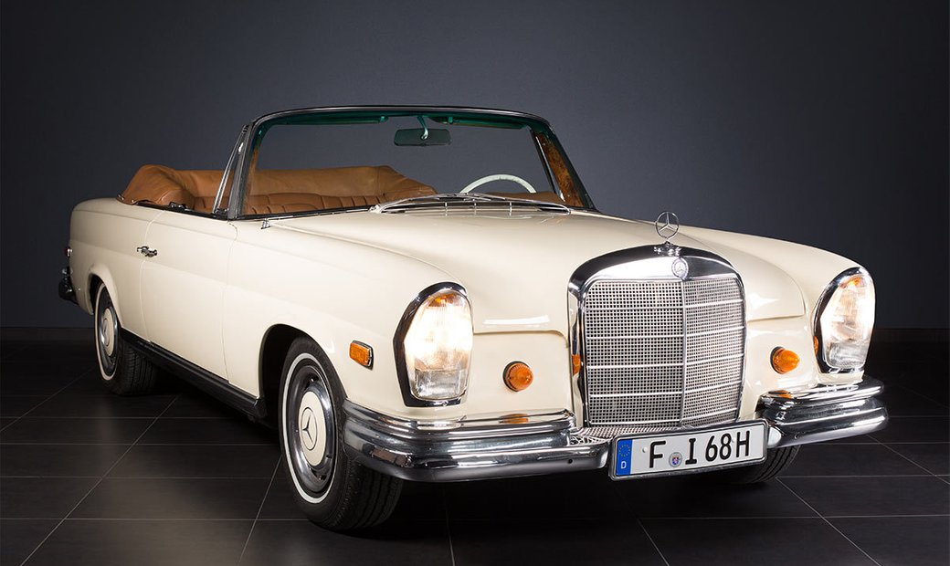 Mercedes-Benz 280 SE Cabriolet from 1968