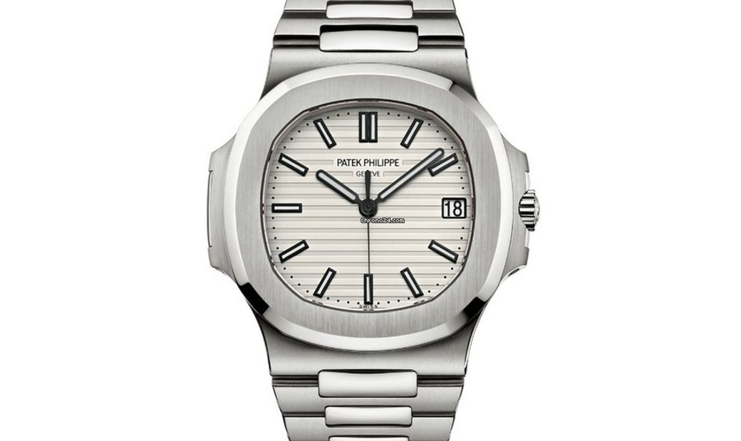 Patek Philippe NEW Nautilus White Dial Stainless Steel Mens 5711/1A-011
