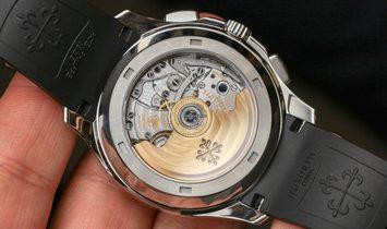 Patek Philippe NEW Aquanaut Chronograph 5968A Automatic Mens