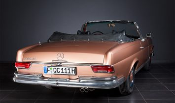 Mercedes-Benz 250 SE Cabriolet W111 from 1966