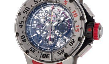 Richard Mille RM 032 Automatic Chronograph Dive Titanium Skeletonized Watch RM 032 Ti