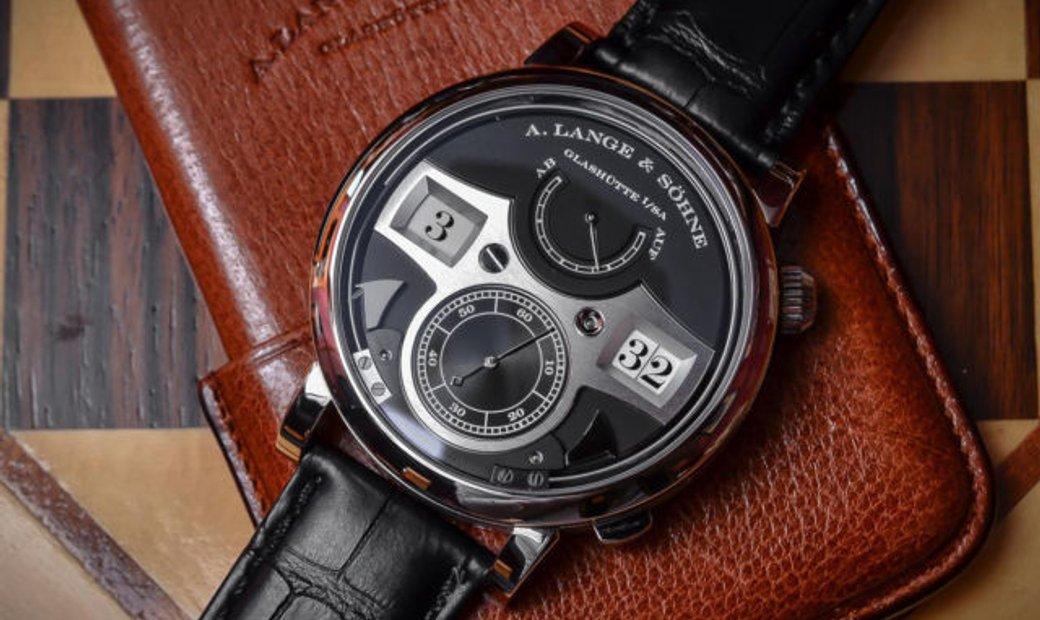 A Lange and Sohne NEW 145.029 Zeitwerk Striking Time 44.2mm Mens Watch