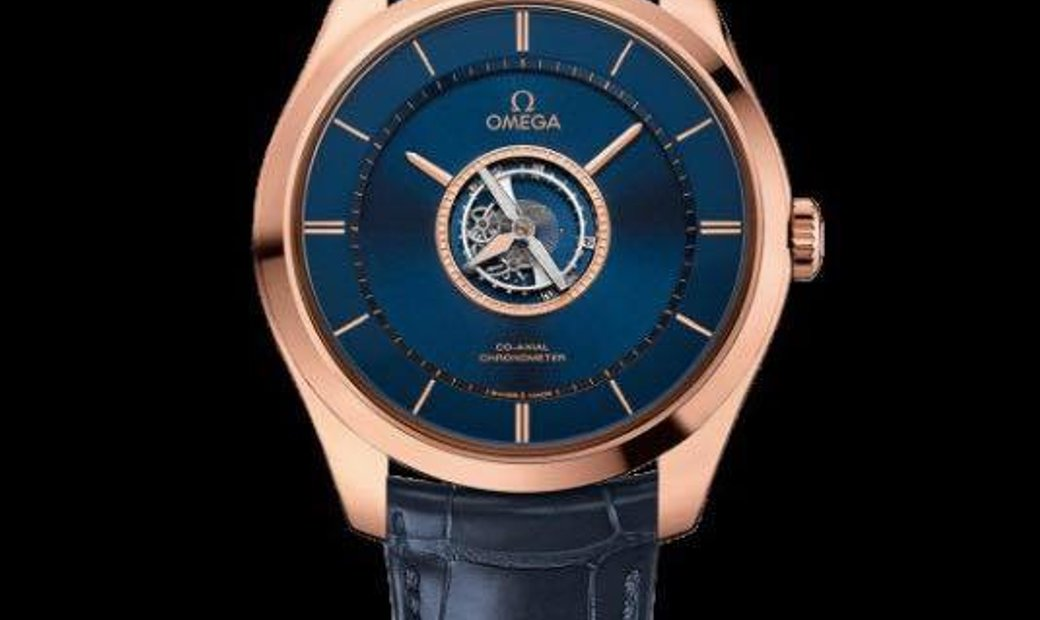Omega NEW De Ville Tourbillon Co-Axial Numbered Edition 44mm 528.53.44.21.03.001