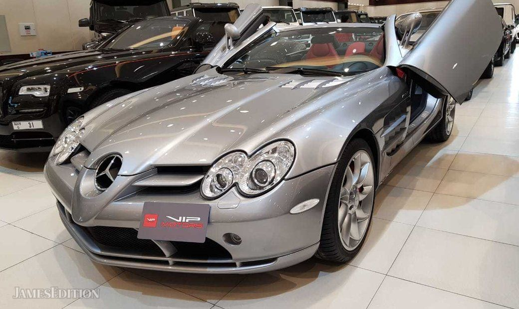 MERCEDES SLR ROADSTER , 2008, EURO SPEC, IMMACULATE CONDITION