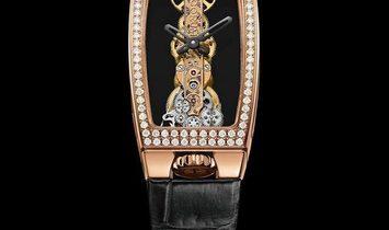 CORUM NEW BRIDGES MISS GOLDEN BRIDGE DIAMOND WATCH 113.102.85/0001 0000