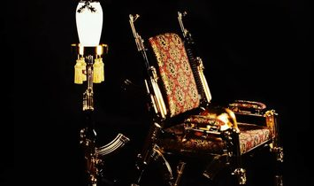 AK47CHAIR GOLD 22K NUMBER1
