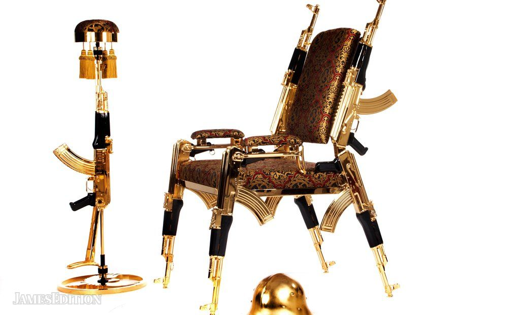 AK47CHAIR GOLD 22K NUMBER1 (10429028)