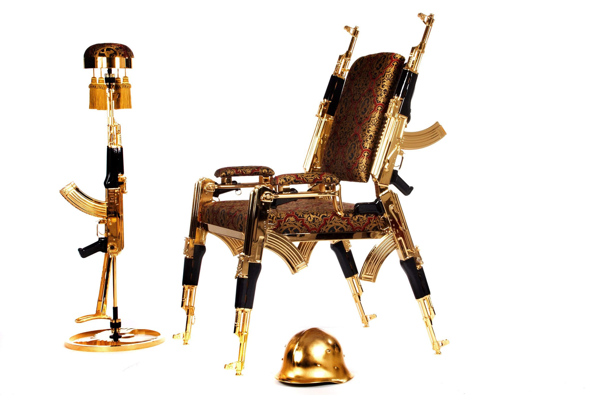 Ak47chair Gold 22k Number1 In Austria For Sale 10429028