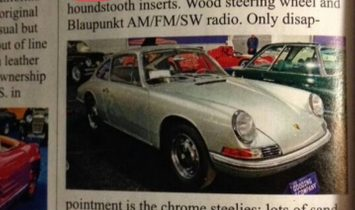 1 of 11 Known to exist. Also was Prepared by Porsche Factory for Racing!