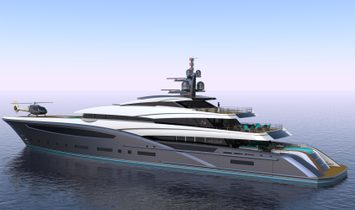 """CUSTOM YACHT 246' 3"""" (75.00m) Concept Yacht 2023"""