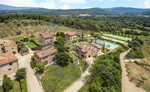 Estate in Toscana, Italy