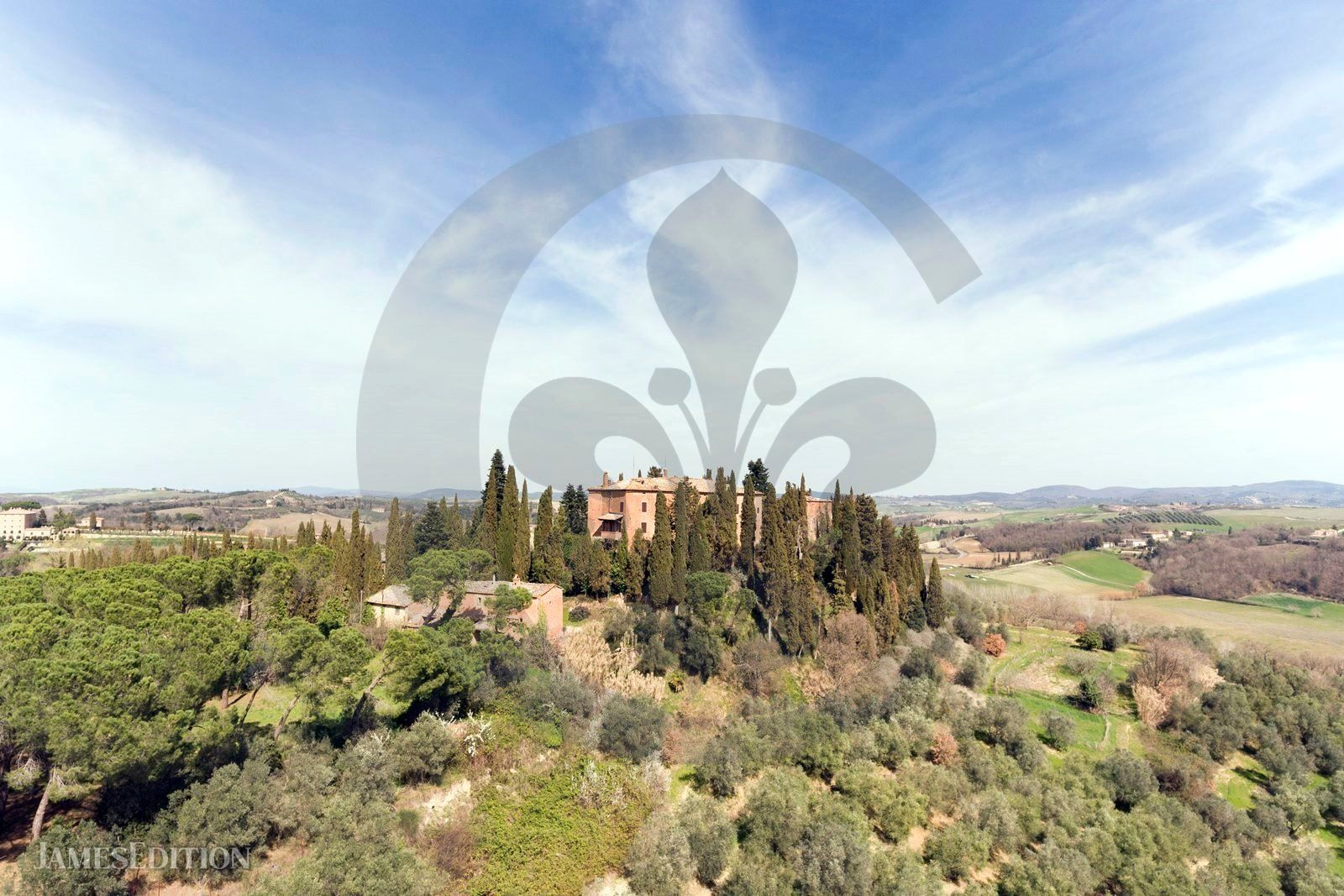 Castle in San Giovanni d'Asso, Tuscany, Italy 1 - 10000323