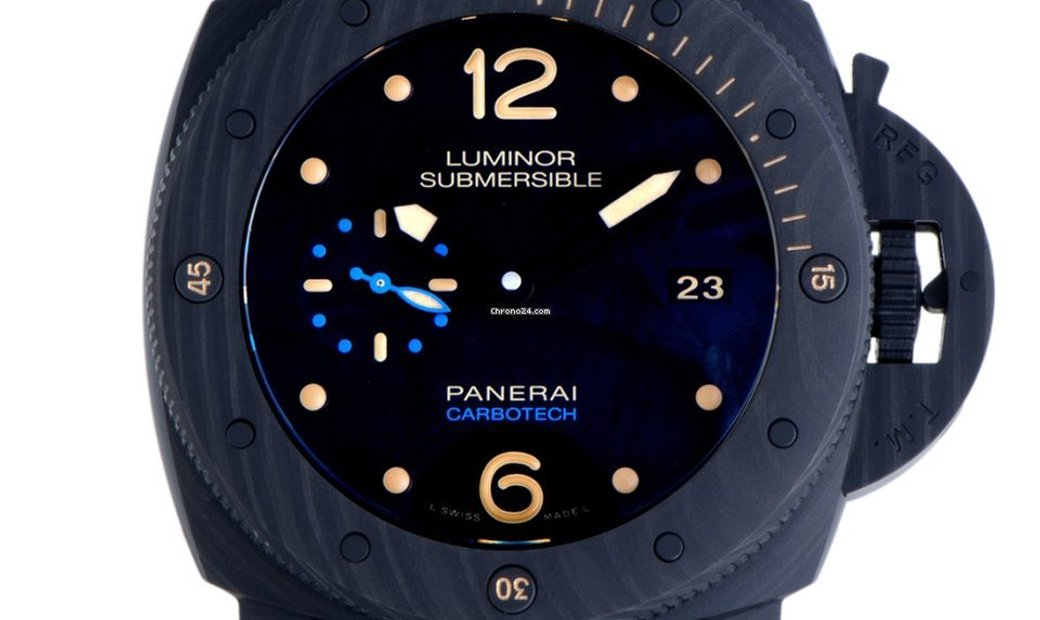 Panerai Officine Panerai Luminor 1950 47mm Carbotech 3 days Automatic PAM00616
