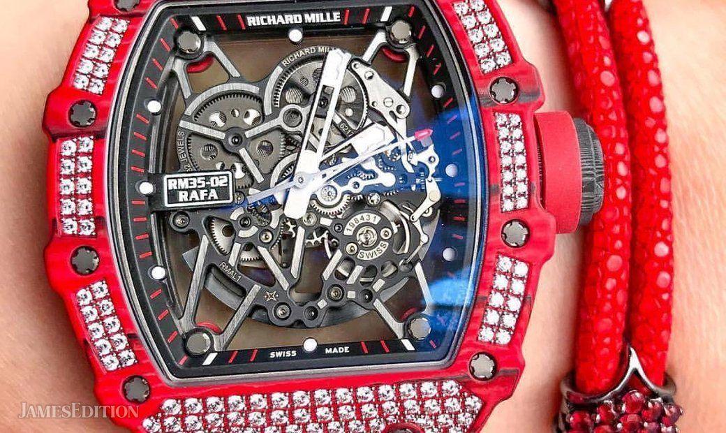 Richard Mille NEW RM 35-02 QTPT Diamonds