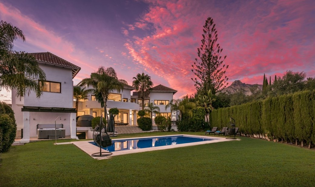 Luxurious New Villa for sale in Marbella