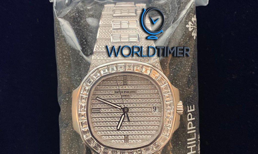 Patek Philippe NEW Nautilus 5719/10G-010 White Gold Watch