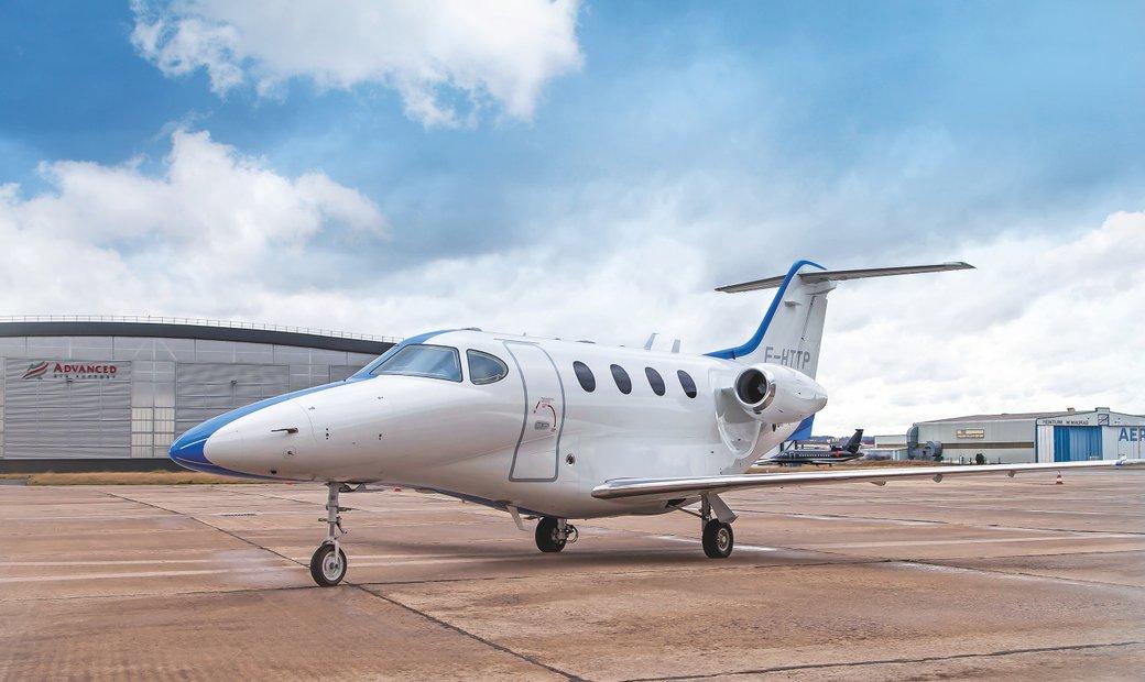 2007 Hawker Beechcraft Premier 1A MSN RB-196 F-HTTP
