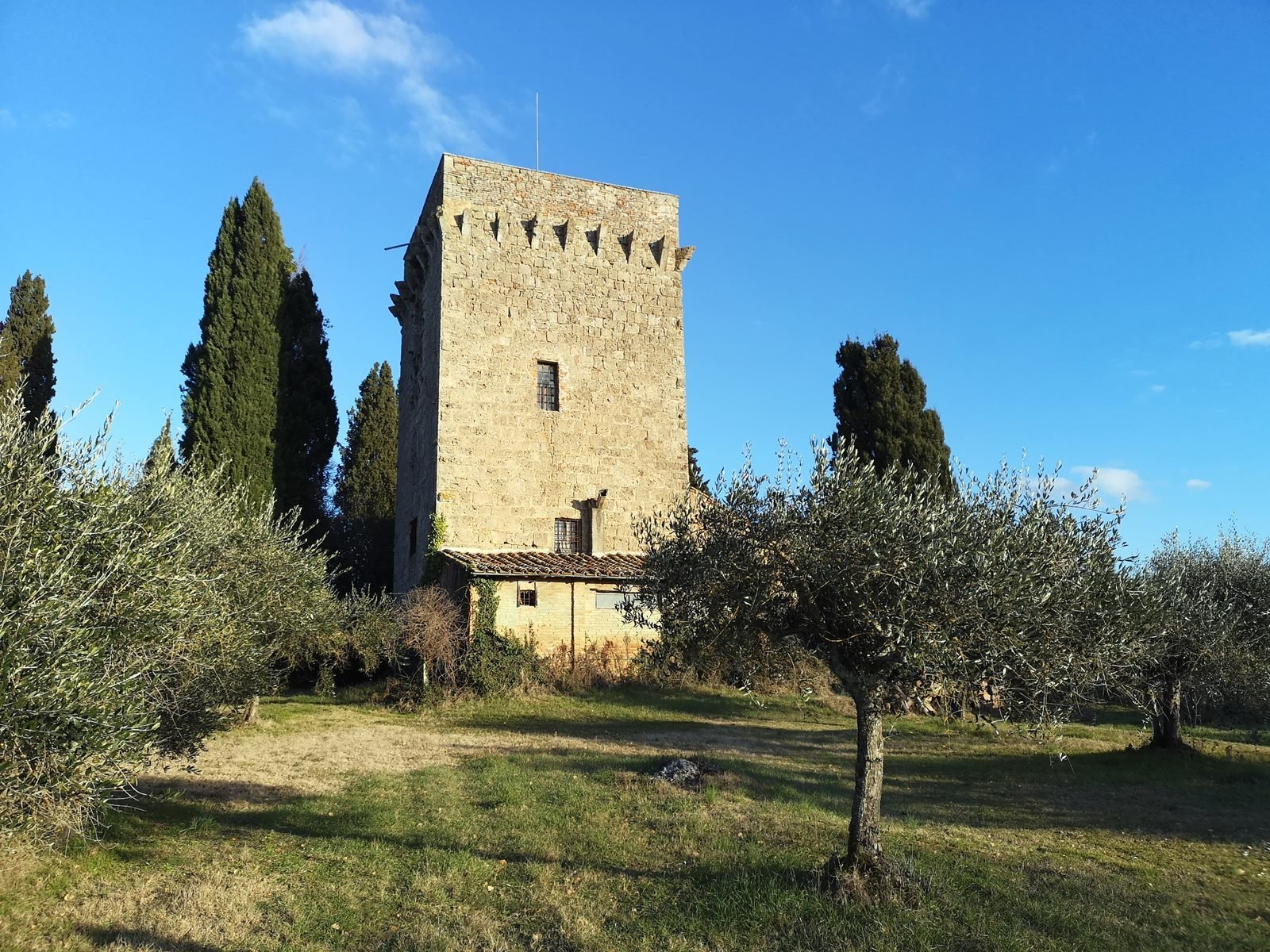 Castle in Chiusi, Tuscany, Italy 1 - 10469448