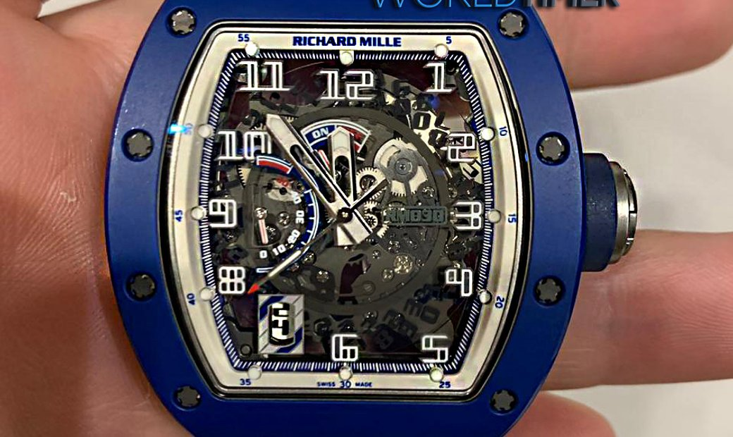 Richard Mille NEW & LIMITED 100 PIECE RM 030 EMEA Blue Ceramic Limited Edition