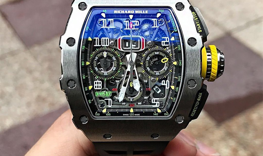 Richard Mille (理查德•米勒) NEW RM 11-03 Titanium Automatic Flyback Chronograph Facelift