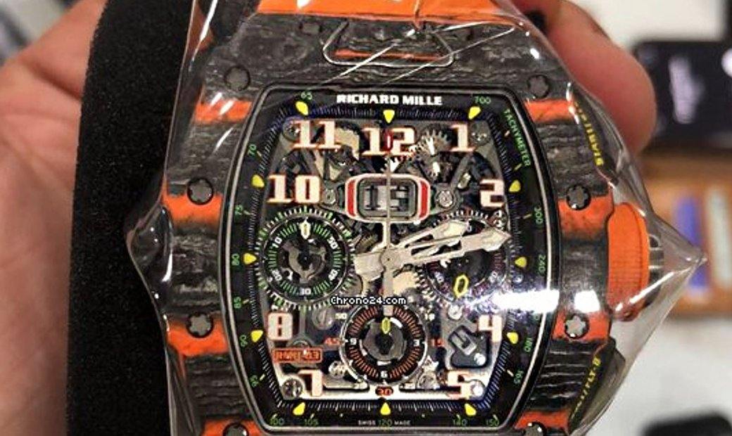 Richard Mille [NEW][LIMITED 500 PIECE] RM 11-03 McLaren Automatic Flyback Chronograph